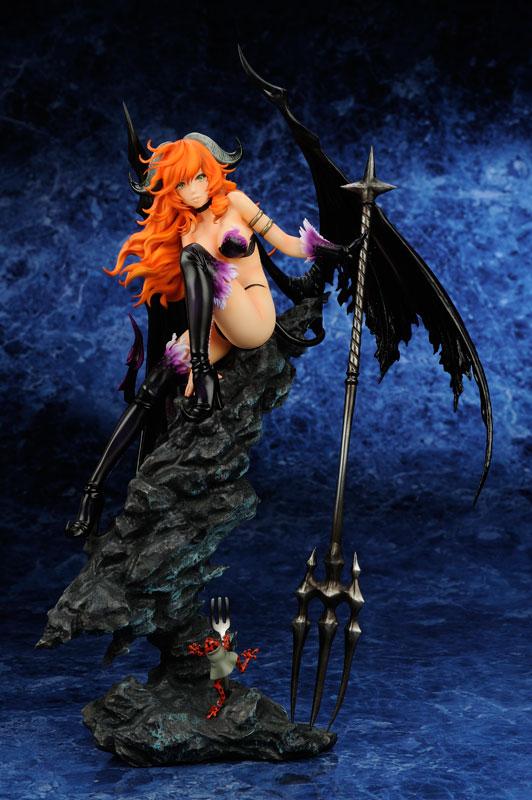 黒の守り手 屈曲角の悪魔(ディアボルス・インクリナタス):デスデモナ 完成品フィギュア