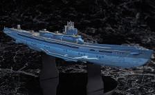 グッドスマイルアームズ 蒼き鋼のアルペジオ -アルス・ノヴァ- イ401 1/350 完成品フィギュア
