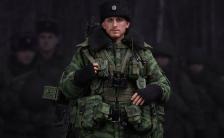 エリート・シリーズ ロシア空挺軍 機関銃兵 1/6 可動フィギュア