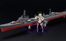 PLAMAX KC-01 艦隊これくしょん -艦これ- 駆逐艦×艦娘 島風 1/350&1/20プラモデル