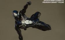 プレミアムフォーマットフィギュア マーベルコミック スパイダーマン(ブラック・コスチューム版)