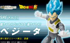 S.H.フィギュアーツ ドラゴンボール超 超サイヤ人ゴッドSS(超サイヤ人) ベジータ 可動フィギュア