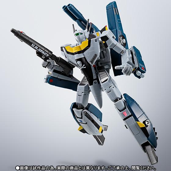HI-METAL R 劇場版 超時空要塞マクロス 愛・おぼえていますか VF-1S ストライクバルキリー(ロイ・フォッカー・スペシャル) 可動フィギュア