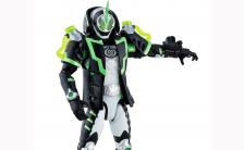 仮面ライダーゴースト GC09 仮面ライダーネクロム 可動フィギュア