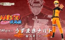 S.H.フィギュアーツ NARUTO-ナルト- 疾風伝 うずまきナルト 仙人モード 可動フィギュア