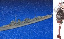 1/700 艦これプラモデル No.16 艦娘 駆逐艦 天津風