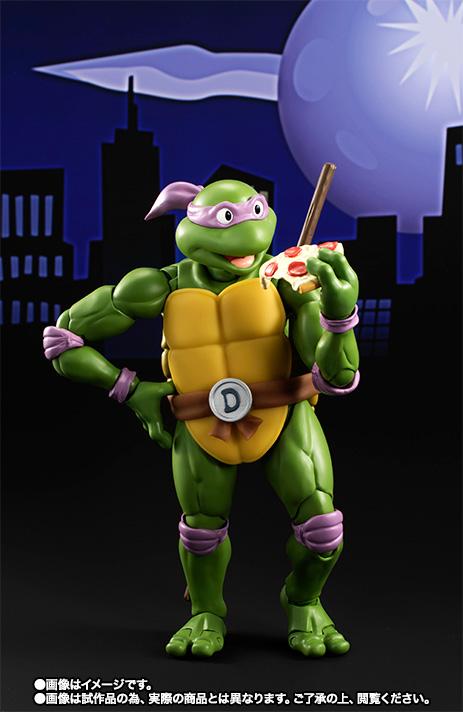 S.H.フィギュアーツ 『Teenage Mutant Ninja Turtles』 ドナテロ 可動フィギュア