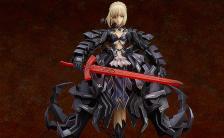 Fate/stay night セイバー・オルタ huke コラボパッケージ 1/7 完成品フィギュア