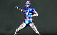スーパーヒーローソフビキットコレクション 宇宙刑事シャイダー 1/8 未塗装組立キット