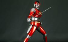 スーパーヒーローソフビキットコレクション 宇宙刑事シャリバン 1/8 未塗装組立キット