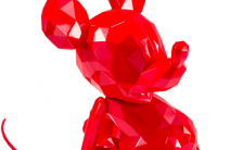 POLYGO Mickey Mouse RED(ポリゴ ミッキーマウス レッド) ノンスケール 完成品フィギュア