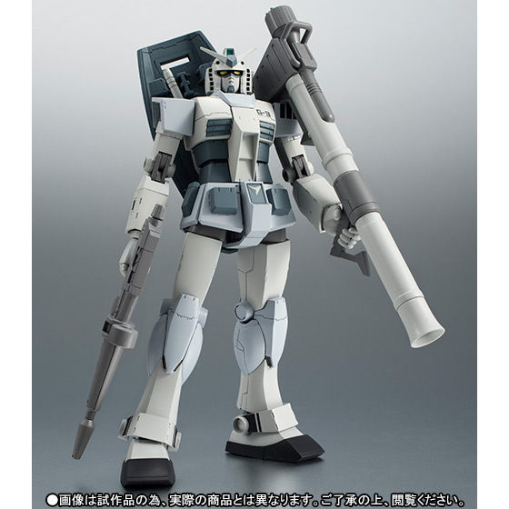 ROBOT魂 [SIDE MS] 『機動戦士ガンダム』 RX-78-3 G-3 ガンダム ver. A.N.I.M.E. 可動フィギュア