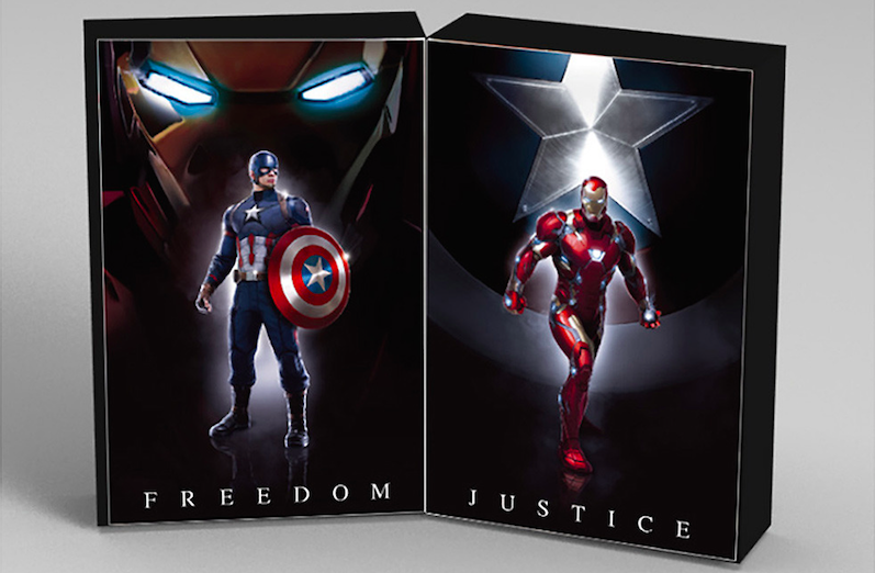 S.H.フィギュアーツ 『キャプテン・アメリカ/シビル・ウォー』 キャプテン・アメリカ(シビル・ウォー)&アイアンマン マーク46 Special BOX Set 可動フィギュア