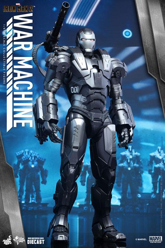 ムービー・マスターピース DIECAST 『アイアンマン2』 ウォーマシン 1/6 可動フィギュア