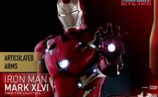 パワー・ポーズ 『シビル・ウォー/キャプテン・アメリカ』 アイアンマン マーク46 1/6 限定可動フィギュア