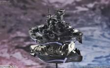 蒼き鋼のアルペジオ -アルス・ノヴァ- レジンキャスト製組立キット ちび丸艦隊金剛DX用 大戦艦コンゴウ 超重力砲ver. 改造キット