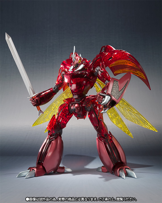 ROBOT魂 〈SIDE AB〉 『聖戦士ダンバイン』 レプラカーン(ハイパー化Ver.) 可動フィギュア