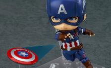 ねんどろいど 『アベンジャーズ/エイジ・オブ・ウルトロン』 キャプテン・アメリカ ヒーローズ・エディション ノンスケール 可動フィギュア