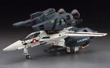 """超時空要塞マクロス 1/48 VF-1S/A ストライク/スーパーバルキリー """"スカル小隊"""" プラモデル"""