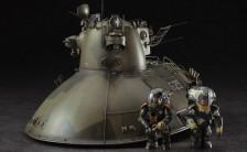 マシーネンクリーガー 1/35 シュトラール軍無人ホバー戦車 「P.K.H.103 ナッツロッカー」 プラモデル