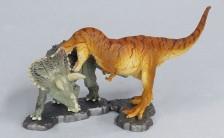 miniQ ミニチュアキューブ002 白亜紀の対決! ティラノサウルスvsトリケラトプス