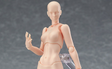 figma archetype next:she flesh color ver. ノンスケール 可動フィギュア