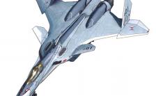 マクロスモデラーズ×技MIX 『マクロスΔ』 技MCR13 VF-31A ジークフリード 一般機 ファイターモード プラモデル