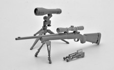 リトルアーモリー LA021 1/12 M24SWSタイプ プラモデル