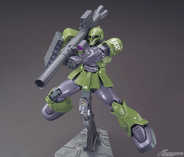 HG 『機動戦士ガンダム THE ORIGIN』 1/144 ザクI(デニム/スレンダー機) プラモデル