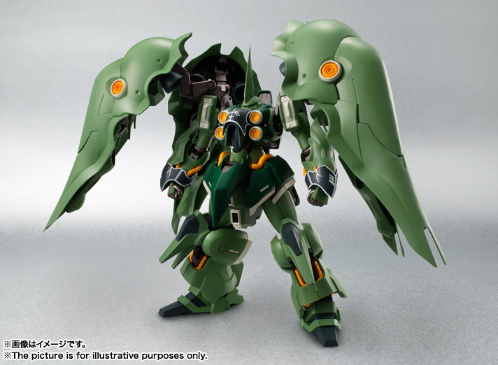 ROBOT魂 〈SIDE MS〉 『機動戦士ガンダムUC』 クシャトリヤ 可動フィギュア