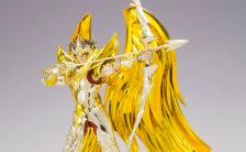 聖闘士聖衣神話EX 『聖闘士星矢 黄金魂 -soul of gold-』 サジタリアスアイオロス(神聖衣) 可動フィギュア