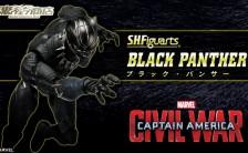 S.H.フィギュアーツ 『シビル・ウォー/キャプテン・アメリカ』 ブラック・パンサー 可動フィギュア