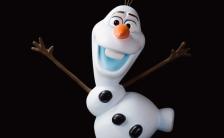 【ディズニー等身大コレクション】『アナと雪の女王』オラフ