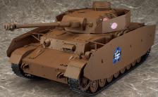figma Vehicles 『ガールズ&パンツァー』 IV号戦車H型(D型改) 1/12 組み立て済み電動モデル