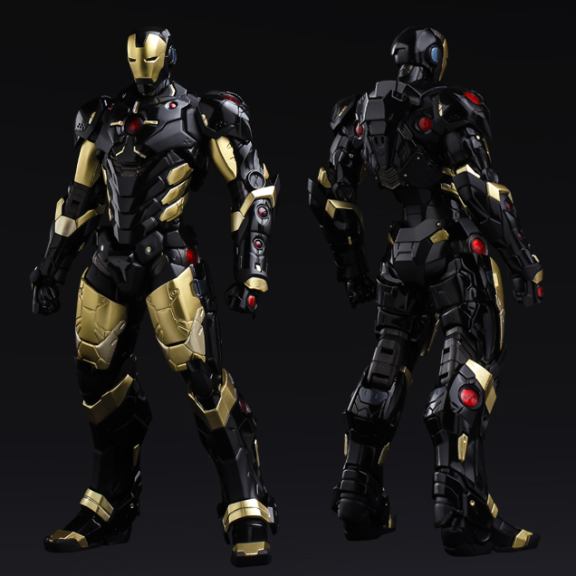 RE:EDIT IRON MAN #06 MARVEL NOW!ver. BLACK X GOLD