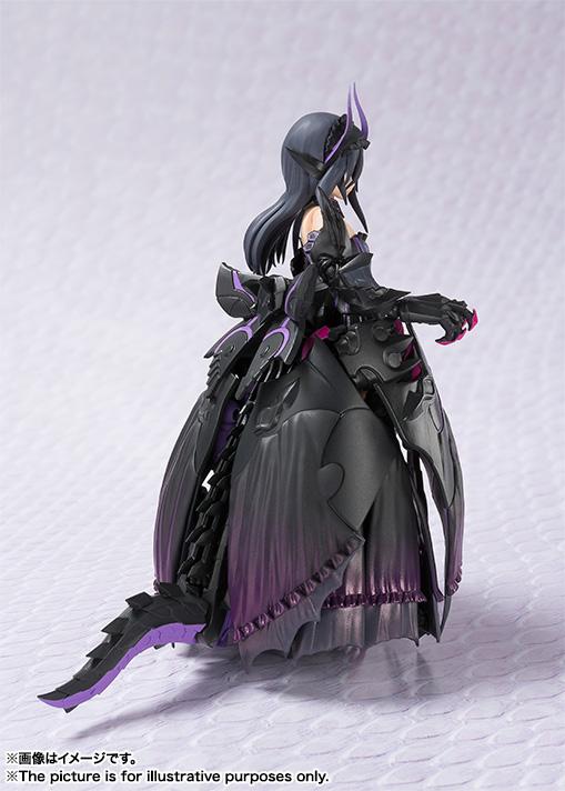 アーマーガールズプロジェクト 魂MIX モンスターハンター 地を暗黒に染めし 黒蝕の竜姫 可動フィギュア