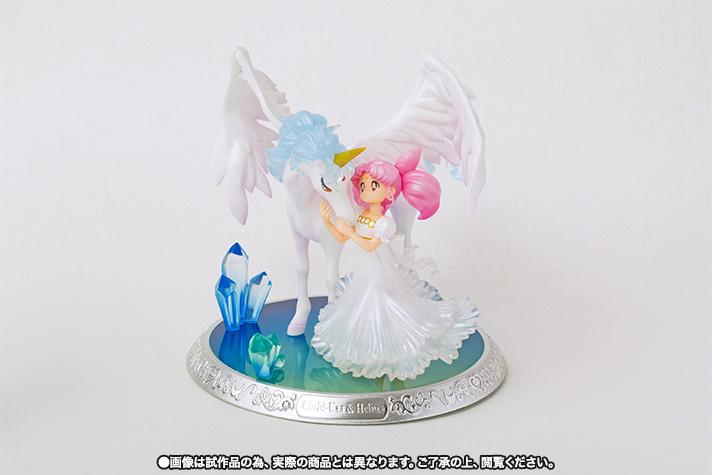 フィギュアーツZERO シュエット 『美少女戦士セーラームーン』 ちびうさ&エリオス -夢のなかで- 完成品フィギュア