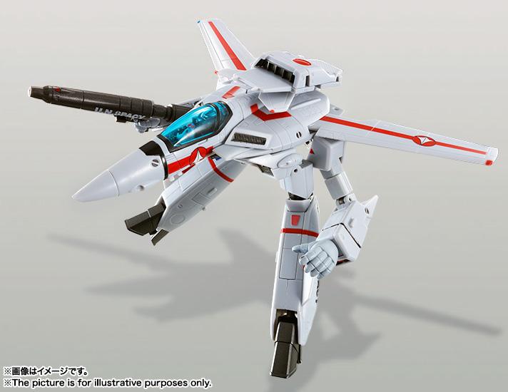 HI-METAL R 『超時空要塞マクロス』 VF-1J バルキリー(一条輝機) 可動フィギュア