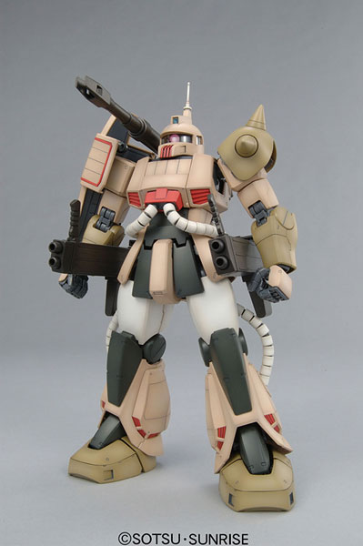 MG 『機動戦士ガンダム MSV』 1/100 MS-06K ザクキャノン プラモデル