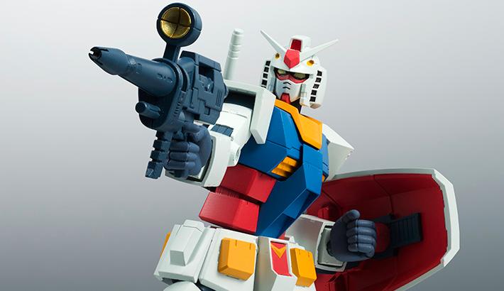 ROBOT魂 〈SIDE MS〉 『機動戦士ガンダム』 RX-78-2 ガンダム ver. A.N.I.M.E. 可動フィギュア
