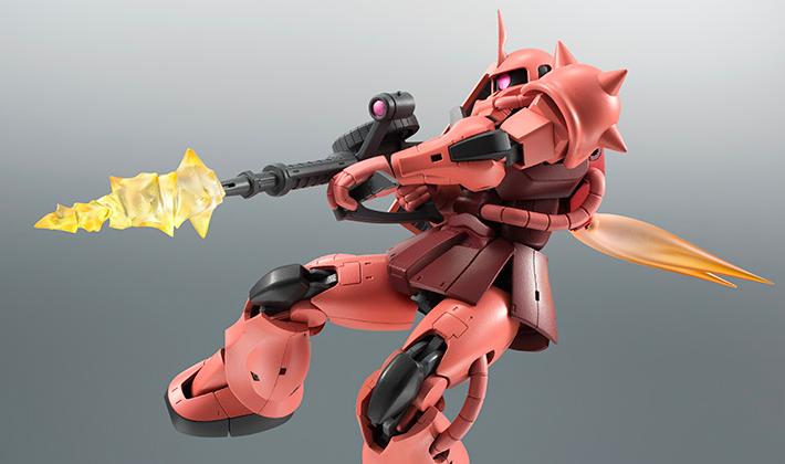 ROBOT魂 〈SIDE MS〉 『機動戦士ガンダム』 MS-06S シャア専用ザク ver. A.N.I.M.E. 可動フィギュア