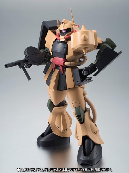 ROBOT魂 〈SIDE MS〉 『機動戦士ガンダム MSV』 MS-06D ザク・デザートタイプ ver. A.N.I.M.E. 可動フィギュア