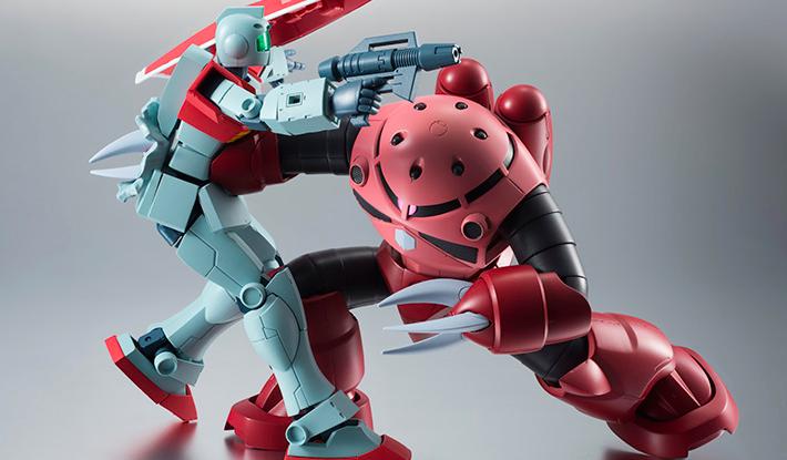 ROBOT魂 〈SIDE MS〉 『機動戦士ガンダム』 MSM-07S シャア専用ズゴック ver. A.N.I.M.E. 可動フィギュア