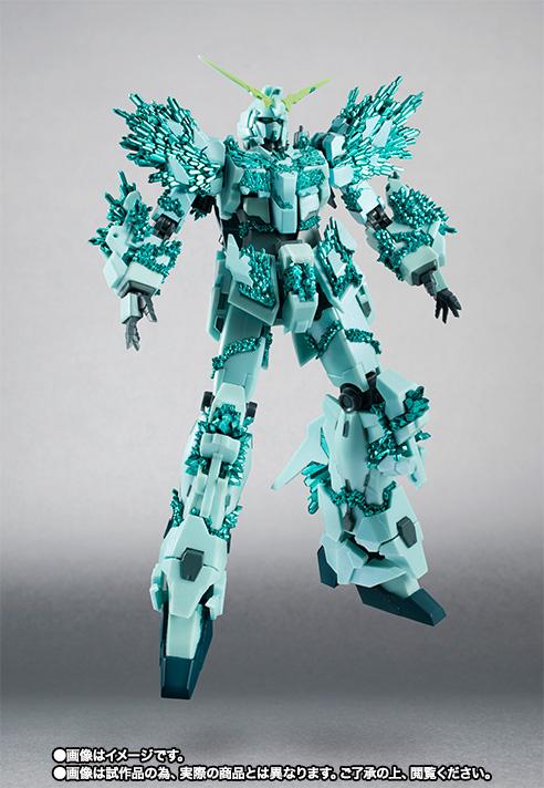 ROBOT魂 〈SIDE MS〉 『機動戦士ガンダムUC』 ユニコーンガンダム(結晶体Ver.) 可動フィギュア