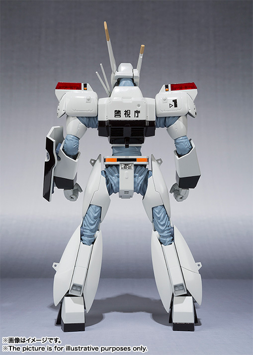 ROBOT魂 〈SIDE LABOR〉 『機動警察パトレイバー』 イングラム1号機 可動フィギュア