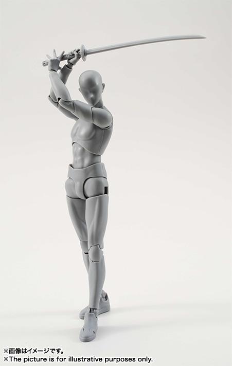 S.H.フィギュアーツ ボディくん DX SET(Gray Color Ver.) 可動フィギュア