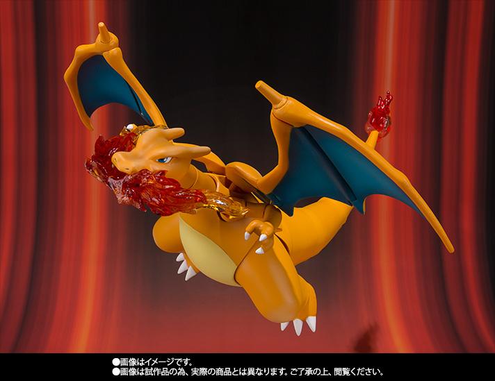 S.H.フィギュアーツ 『ポケットモンスターXY&Z』 リザードン 可動フィギュア