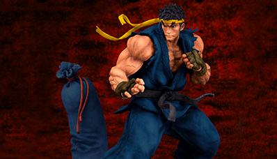 Fighters Legendary 『STREET FIGHTER III 3rd STRIKE』 リュウ ダークブルーver. 1/8 完成品フィギュア
