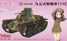 『ガールズ&パンツァー 劇場版』 1/35 知波単学園 九五式軽戦車[ハ号] プラモデル