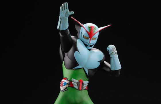 スーパーヒーローソフビキットコレクション 超人バロム・1 1/8 未塗装組立キット
